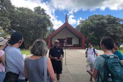4.History Lesson with JohnTe Whare Runanga Waitangi Treaty GroundsNatalie WhiteWaitangi Treaty Grounds